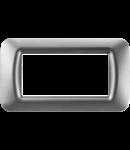 Placa ornament Titan  4 module Gewiss System