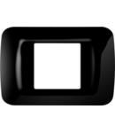 Placa ornament Toner Negru 2 module Gewiss System