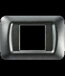 Placa ornament Ardezie  2 module  Gewiss System
