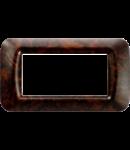 Placa ornament Alun Englezesc 4 module  Gewiss System