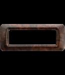Placa ornament Alun Englezesc 6 module  Gewiss System