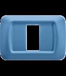 Placa ornament Azur 1 modul Gewiss System