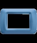 Placa ornament Azur 3 module Gewiss System