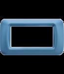 Placa ornament Azur 4 module Gewiss System