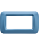 Placa ornament Azur 6 module Gewiss System