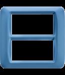 Placa ornament Azur 8 (4+4) module Gewiss System