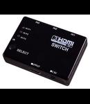 HDMI SWITCH 3XIN / 1XOUT CU TELECOMANDA