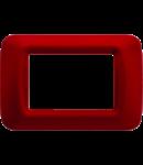 Placa ornament Burgund Clasic 3 module Gewiss System