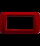 Placa ornament Burgund Clasic 4 module Gewiss System
