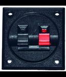 CONECTOR BOXA 2 CONTACTE, PATRAT