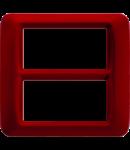 Placa ornament Burgund Clasic 8(4+4) module Gewiss System
