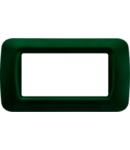 Placa ornament TOP SYSTEM  - tehnopolimer gloss finish - 4 module- RACING GREEN - SYSTEM