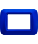 Placa ornament Albastru Jazz 3 module Gewiss System
