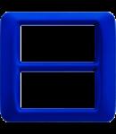 Placa ornament Albastru Jazz 8 (4+4) module Gewiss System