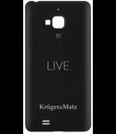 CAPAC SMARTPHONE LIVE NEGRU KRUGER&MATZ