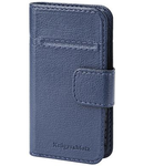 FLIP COVER UNIVERSAL BLUE 4.1-4.5 INCH K&M