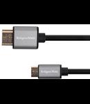CABLU HDMI - MICRO HDMI 1.8M BASIC K&M