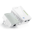 KIT POWERLINE EXTENDER WIFI AV500 300MBPS TP-