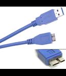 CABLU USB 3.0 TATA A - TATA MICRO B 1.8M