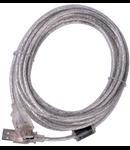 CABLU USB 2.0 TATA A - MAMA A ECRANAT 5M