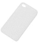 BACK COVER CASE IPHONE 4 TRANSPARENT SITA
