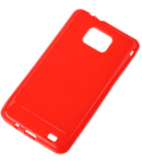 BACK COVER CASE SAMSUNG GALAXY S2 ROSU