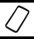 PROTECTIE SILICON NEGRU IPHONE 4