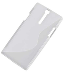 BACK COVER CASE SONY XPERIA S M-LIFE TRANS.