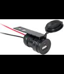 SOCLU AUTO MONTAJ USB 12/24V
