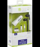 KIT IPHONE5 (INCARCATOR AUTO+CABLU+CASTI) M-L