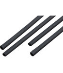 TUB TERMOCONTRACTABIL 6.5MM/1M NEGRU SET 10 B