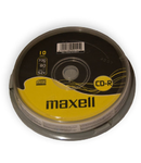 CD-R MAXELL 700MB 52X CAKE 10