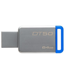 FLASH DRIVE 64GB USB 3.0 METAL 50 KINGSTON