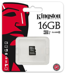 MICRO SD CARD 16GB CLASS 4 FARA ADAPTOR KINGS