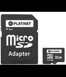 MICRO SD CARD CU ADAPTOR 32GB CLASA 10 PLATIN