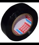 BANDA IZOLATOARE BASIC 15MM / 10M - NEGRU