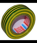 BANDA IZOLATOARE BASIC 15MM / 10M - GALBEN/VE