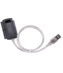 ADAPTOR USB - 2XIDE 2.5 inch&3.5 inch + SATA