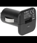 INCARCATOR AUTO SLOT USB 1A NEGRU