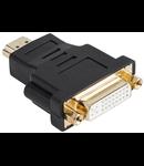 ADAPTOR HDMI TATA-DVI MAMA 24+1