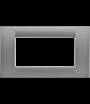 Placa ornament Titan 4 module Gewiss Virna