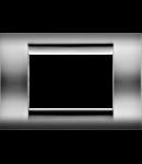 Placa ornament Crom 8 (4+4) module Gewiss Virna
