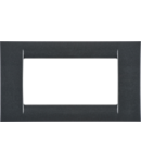 Placa ornament Ardezie 4 module Gewiss Virna