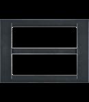 Placa ornament Ardezie 12 (6+6) module Gewiss Virna