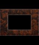 Placa ornament Alun Englezesc 3 module Gewiss Virna