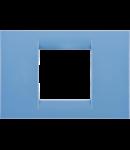 Placa ornament Azur 2 module Gewiss Virna