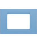 Placa ornament Azur 3 module Gewiss Virna