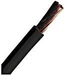 Conductor flexibil cu izolaţie din PVC H07V-K 2,5mm² negru