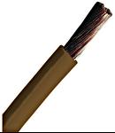 Conductor flexibil cu izolaţie din PVC H07V-K 2,5mm² maro