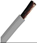 Conductor flexibil cu izolaţie din PVC H07V-K 2,5mm² gri